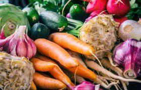 Vegetables. Fresh vegetables. Colorful vegetables background. Healthy vegetable studio photo. Assortment of fresh vegetables close up.